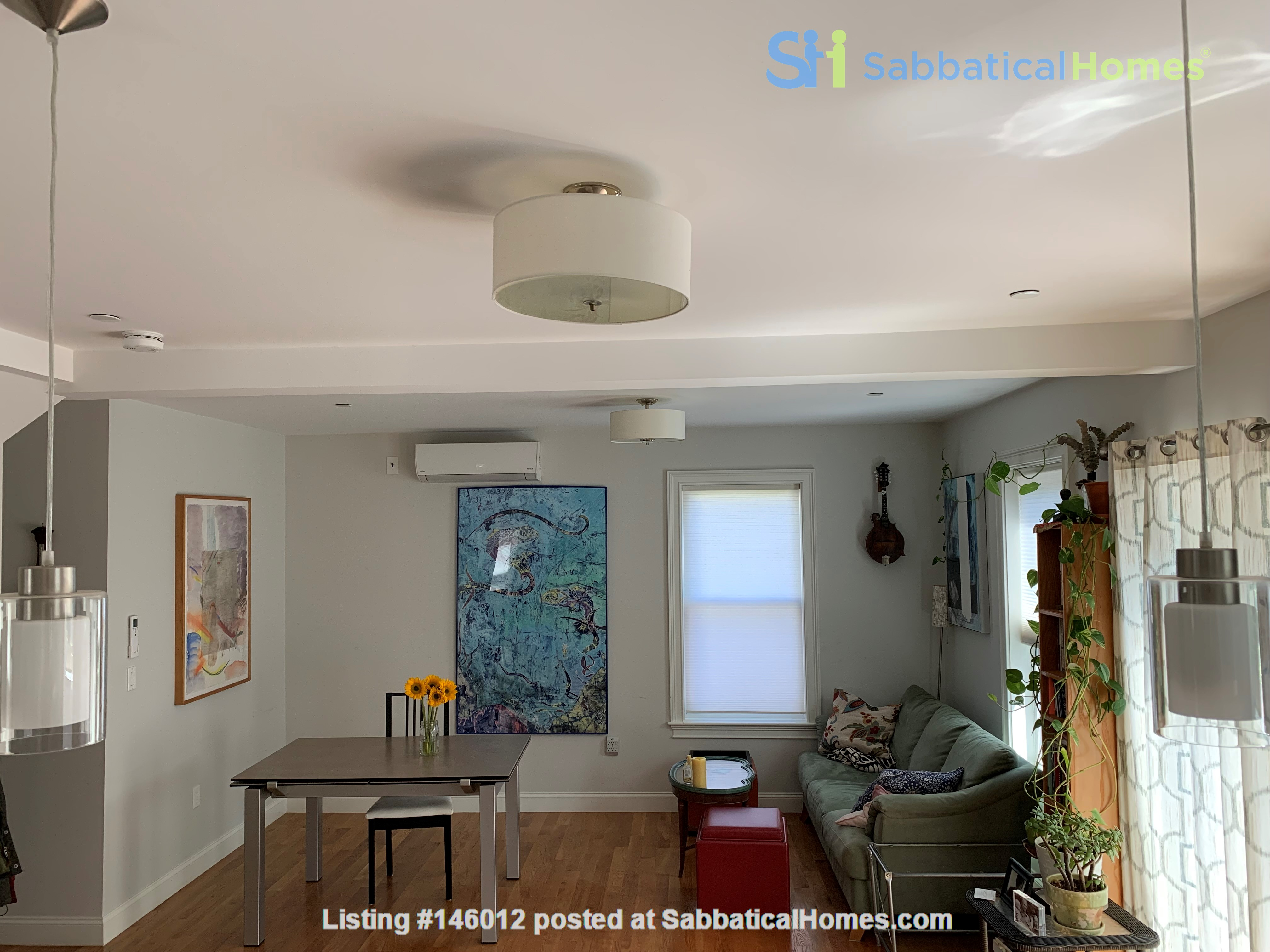 Lovely furnished 2-bedroom with private yard between Harvard and MIT Home Rental in Cambridge 2