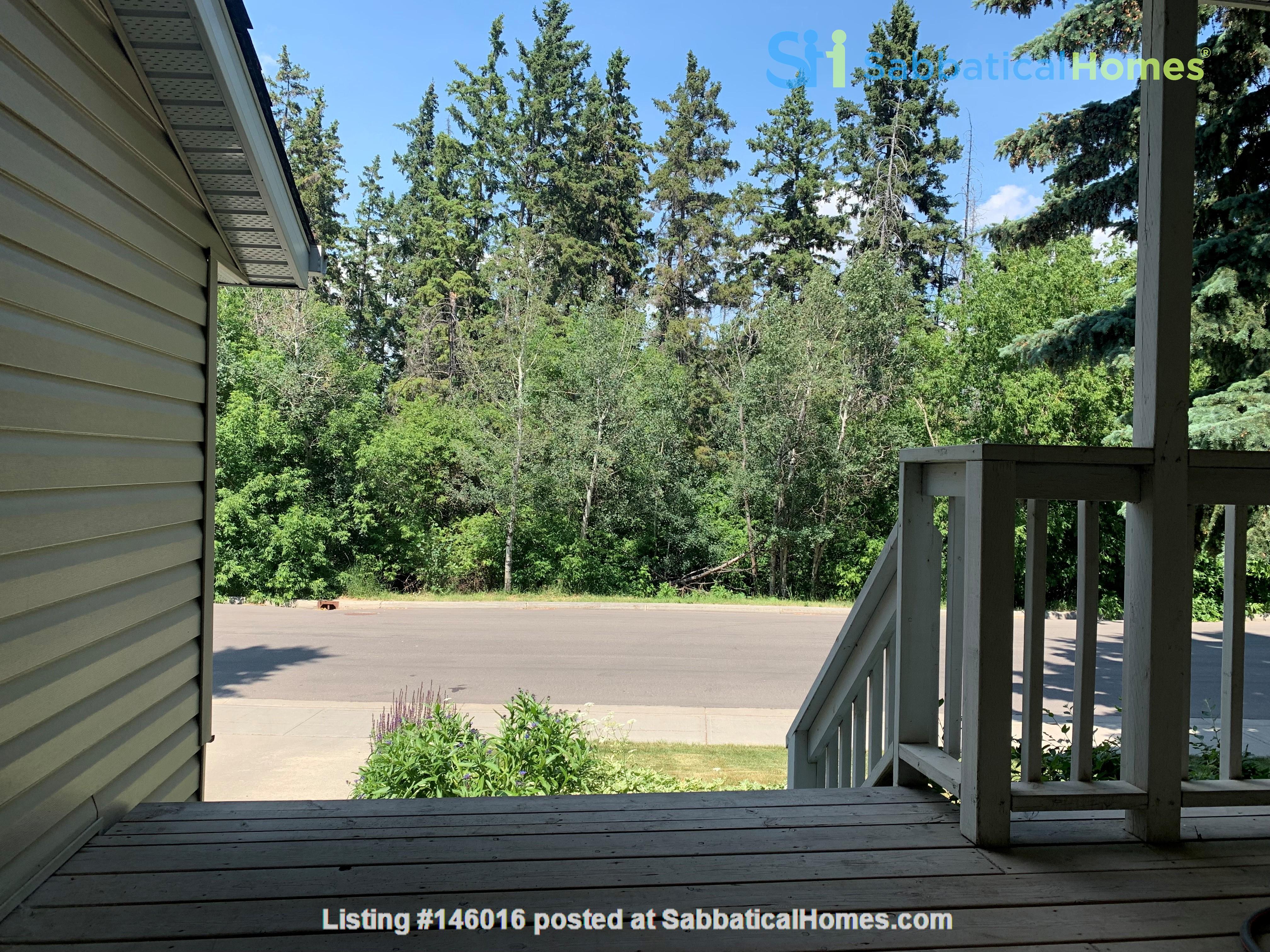 Forest haven sabbatical home Home Rental in Edmonton 1