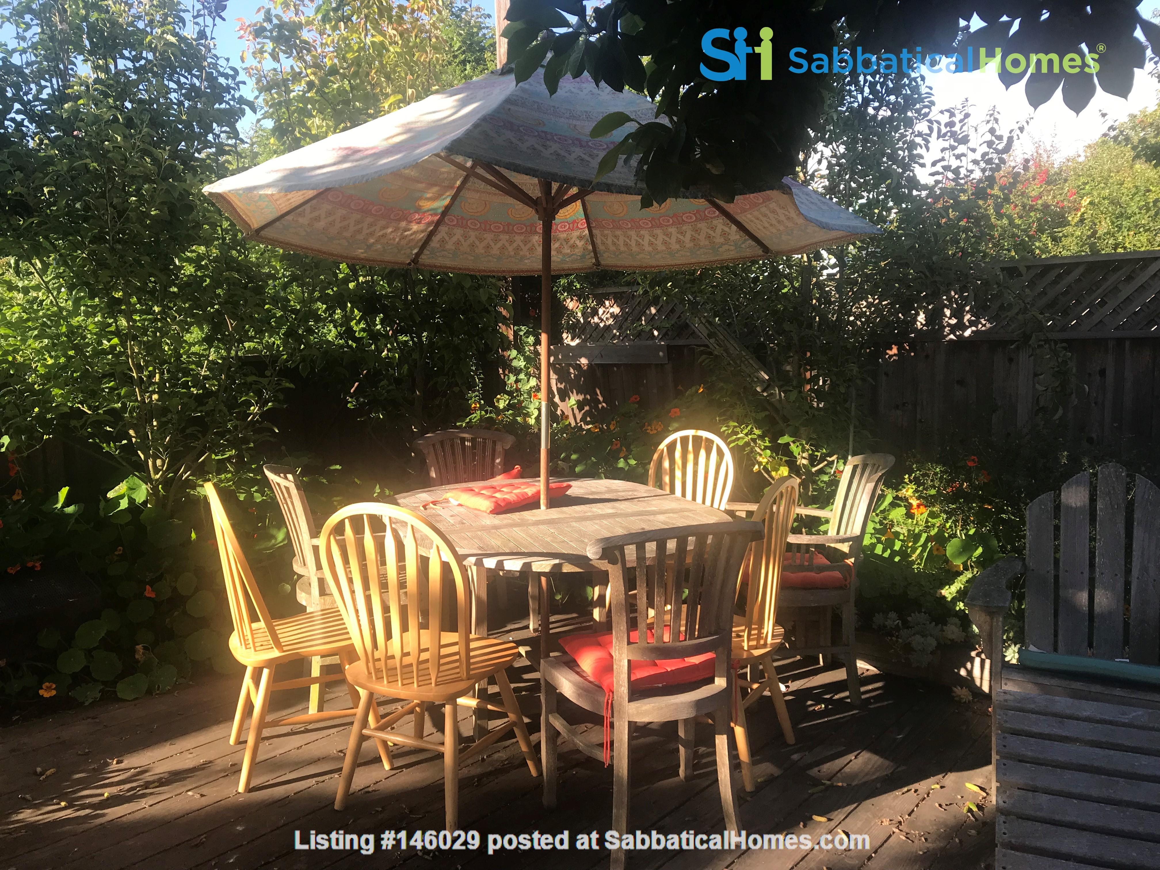 Sublet  Sunny Furnished 3 bedroom / 1..5 bathroom Berkeley Home Home Rental in Berkeley 2