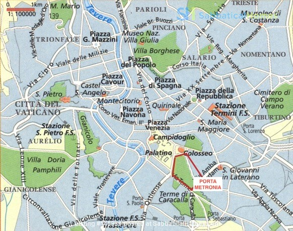 65 sqm in the heart of ancient Rome and city center Home Rental in Roma 0