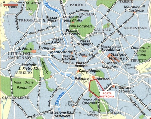 65 sqm in the heart of ancient Rome and city center Home Rental in Roma 0 - thumbnail