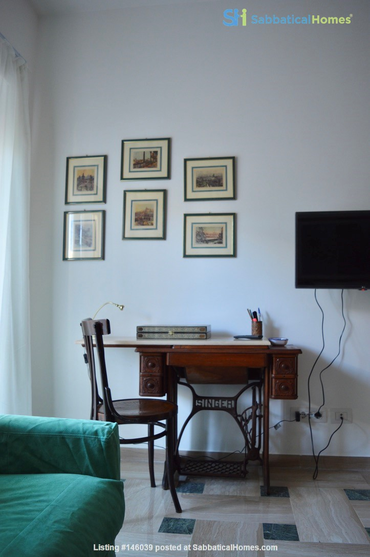 65 sqm in the heart of ancient Rome and city center Home Rental in Roma 5