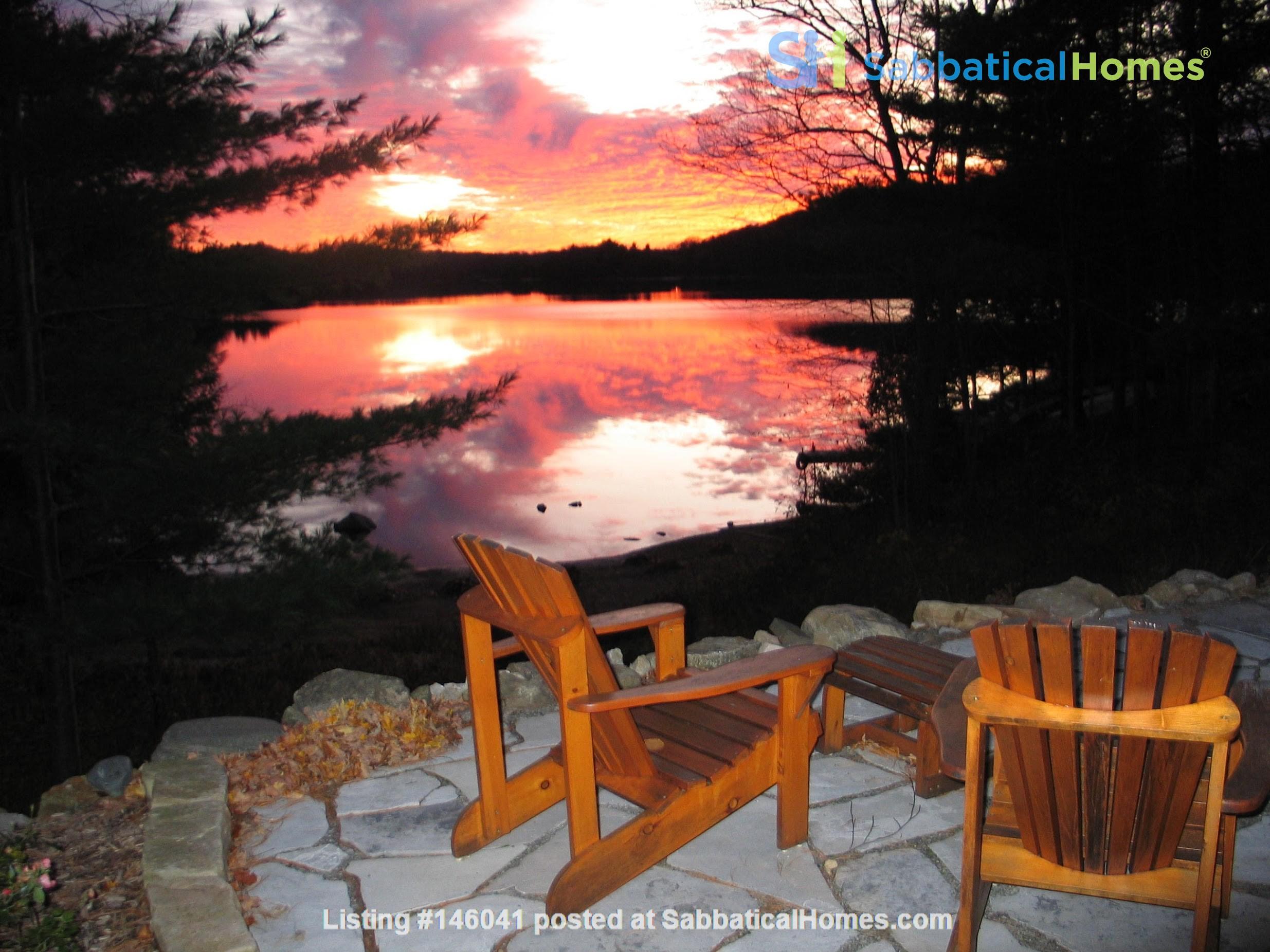 Beautiful nature retreat on lake Home Rental in  6