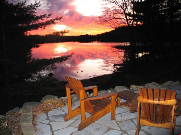 Beautiful nature retreat on lake Home Rental in  6 - thumbnail