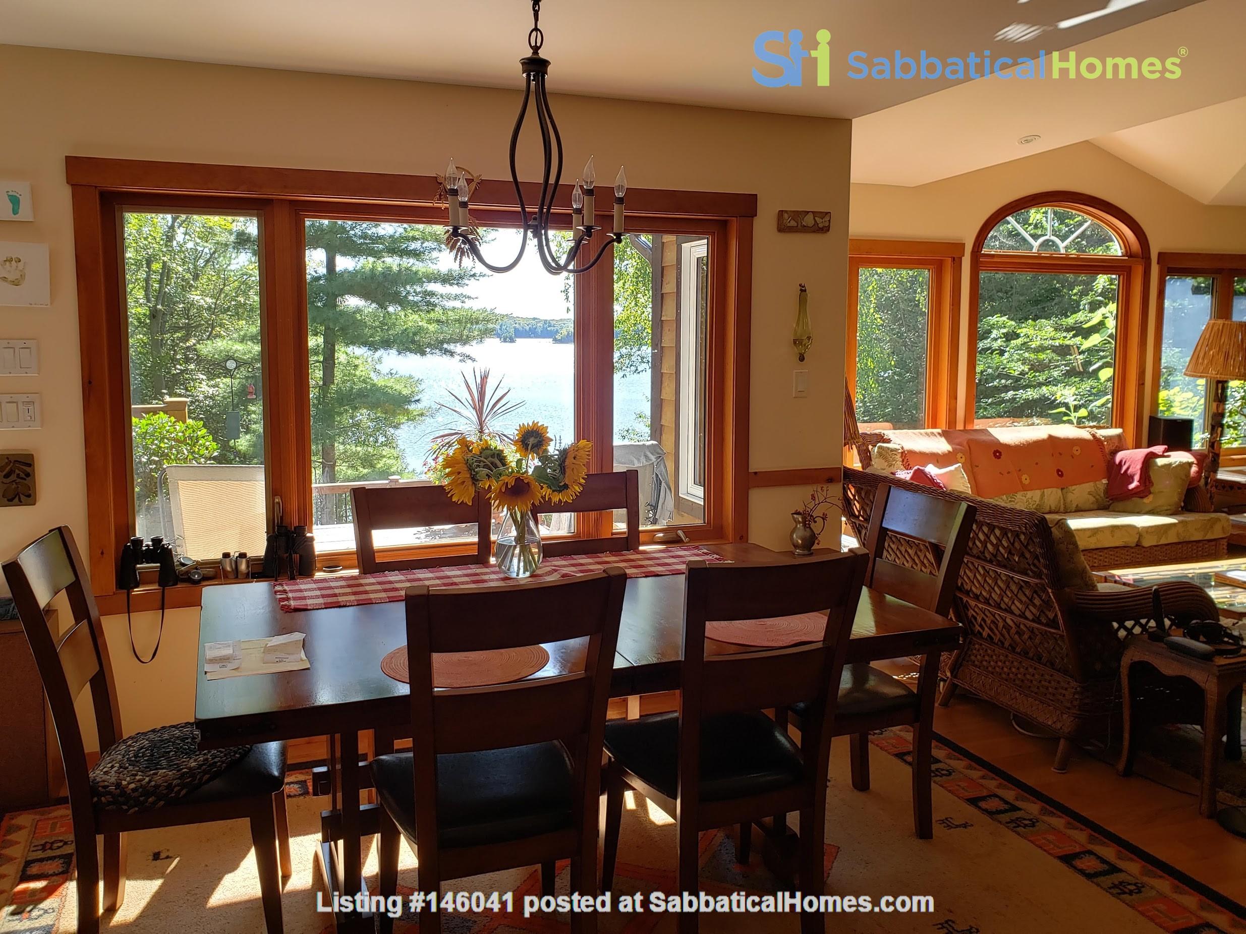 Beautiful nature retreat on lake Home Rental in  3