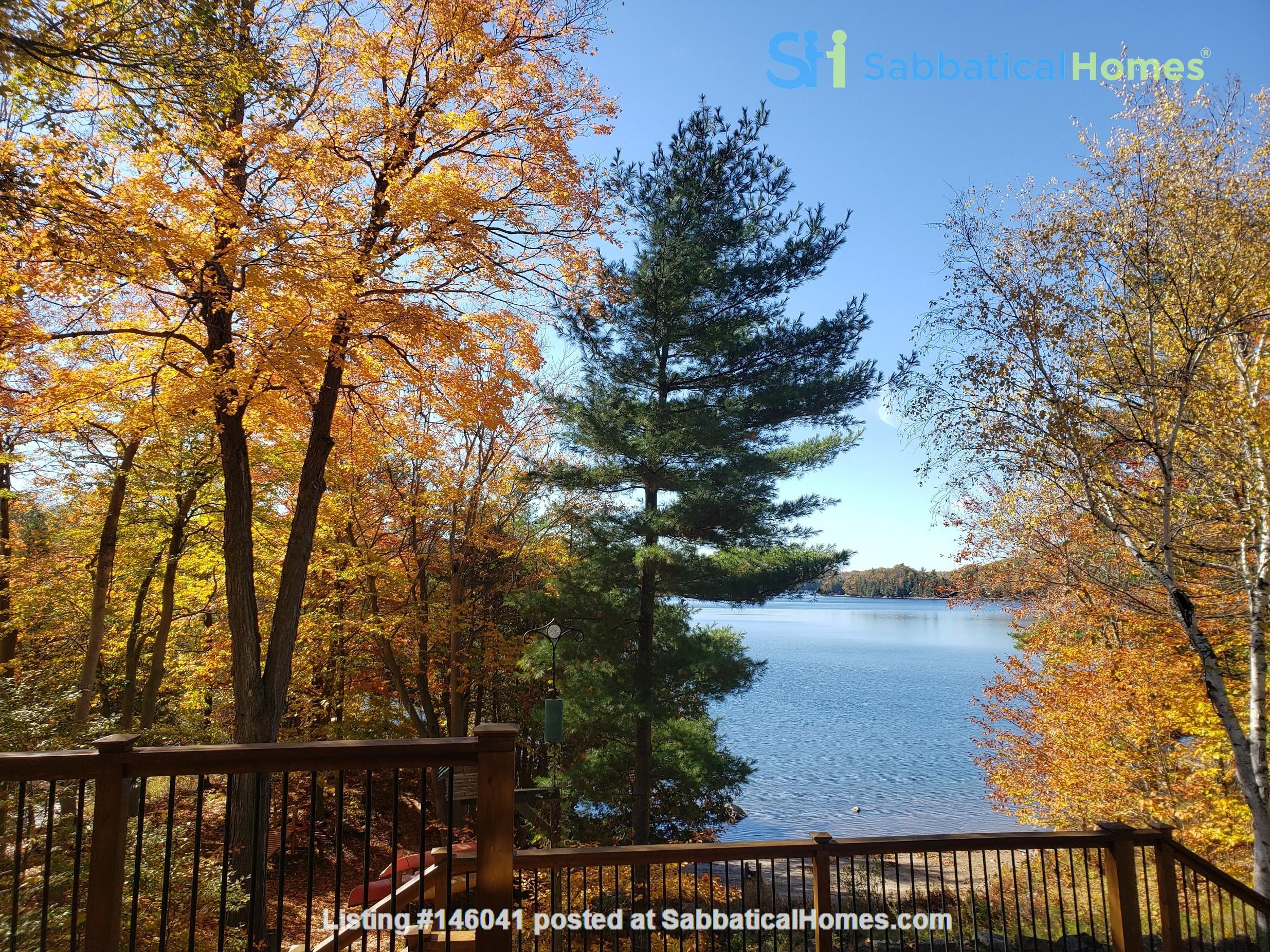 Beautiful nature retreat on lake Home Rental in  0
