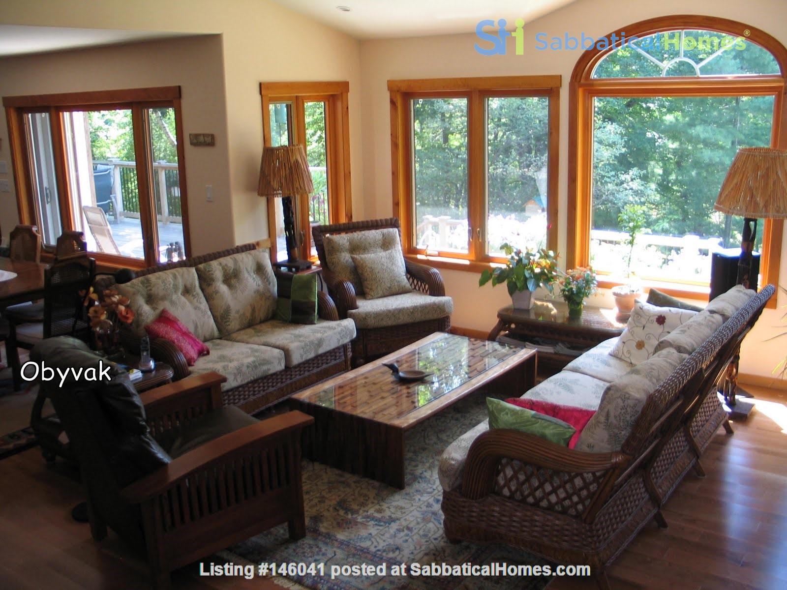 Beautiful nature retreat on lake Home Rental in  1