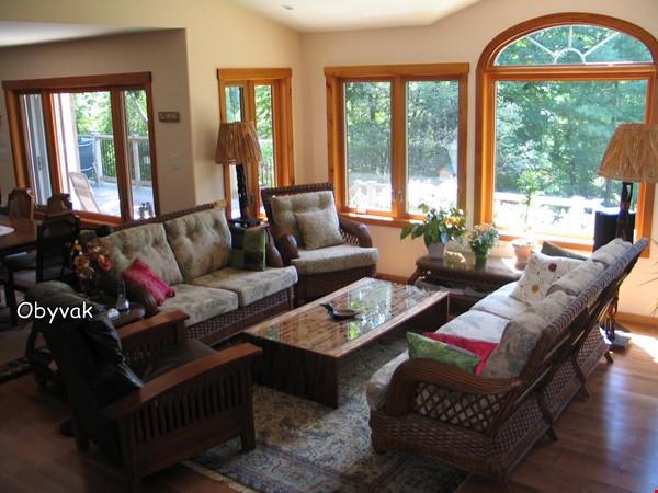 Beautiful nature retreat on lake Home Rental in  1 - thumbnail