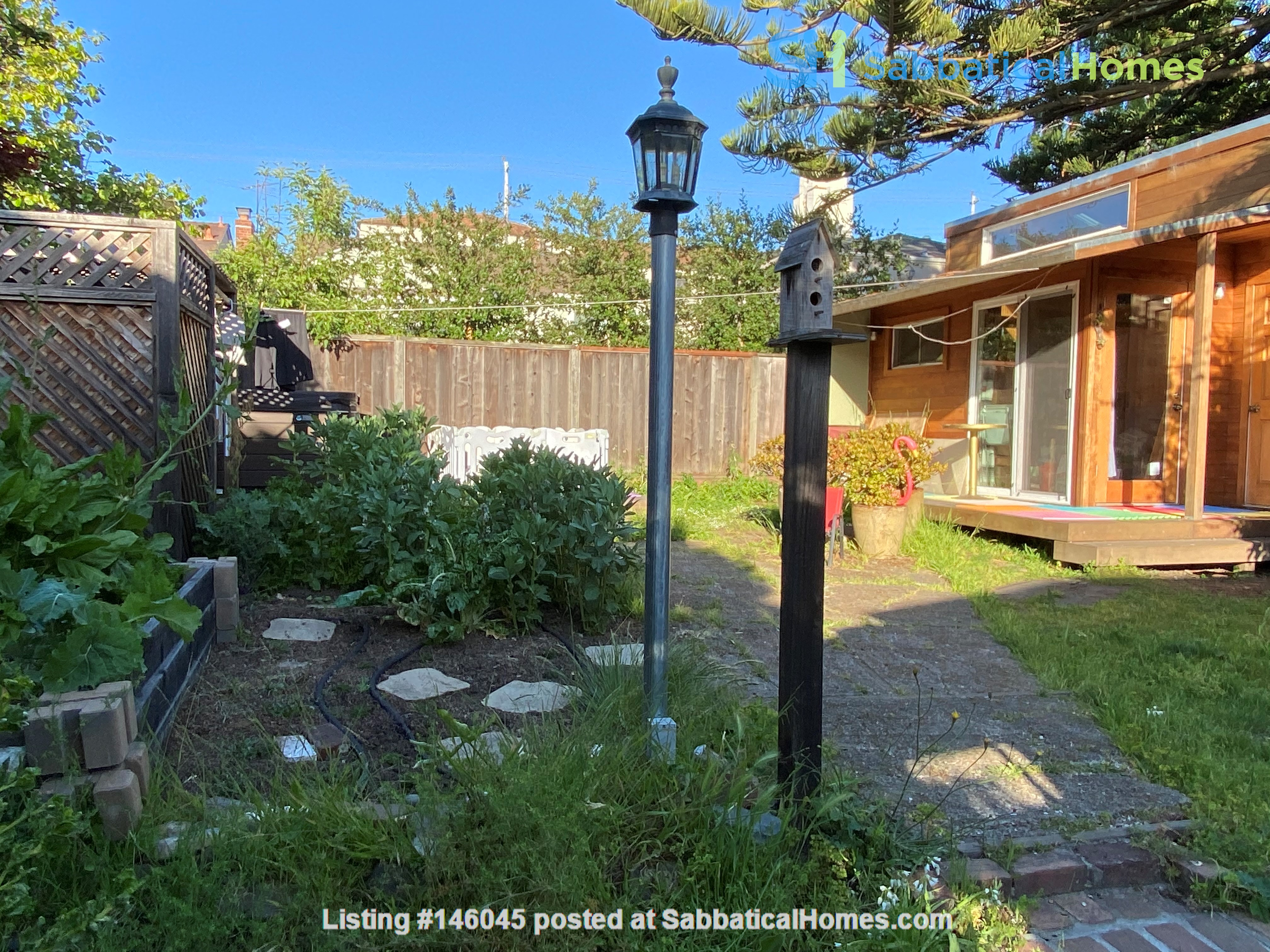 Single family home with lovely garden and hot tub in walkable neighborhood! Home Rental in El Cerrito 1
