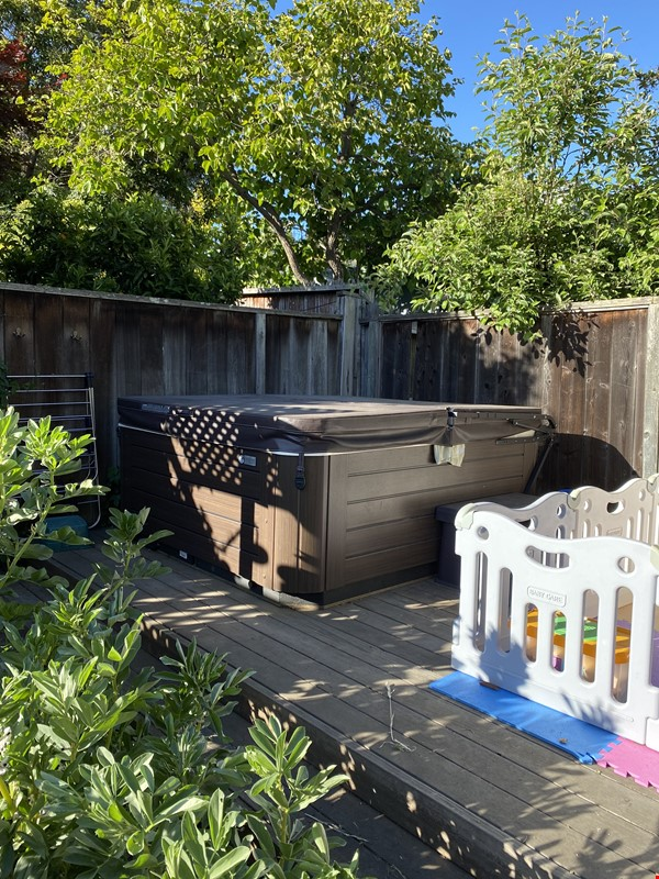 Single family home with lovely garden and hot tub in walkable neighborhood! Home Rental in El Cerrito 2 - thumbnail