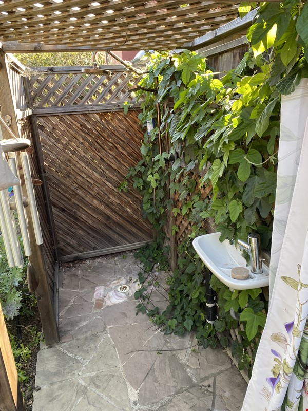 Single family home with lovely garden and hot tub in walkable neighborhood! Home Rental in El Cerrito 8 - thumbnail