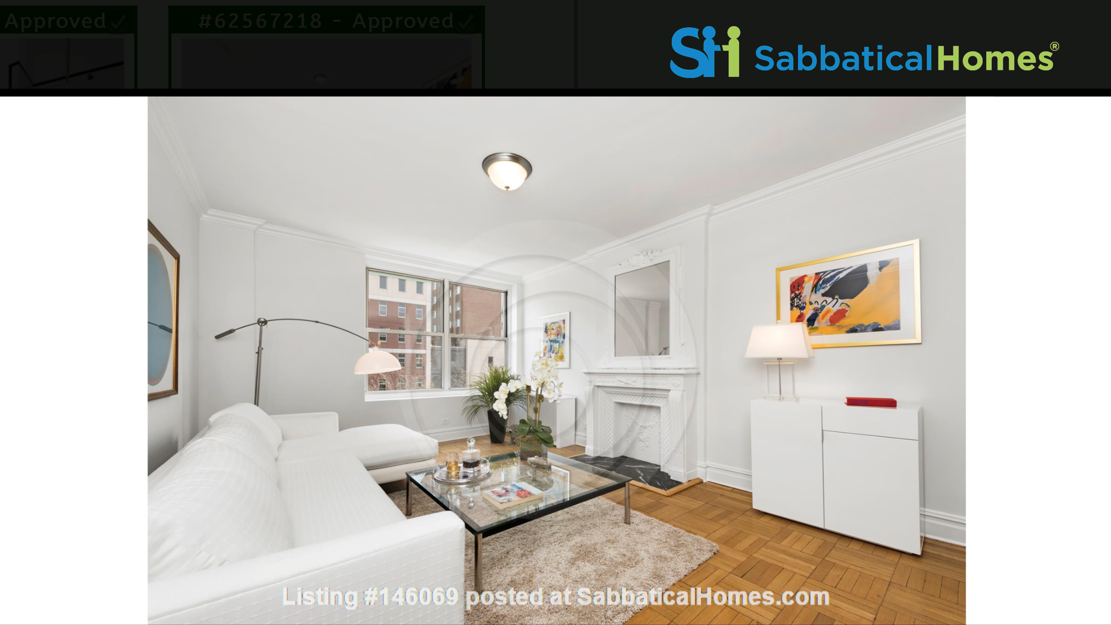Large, sun-filled 2 bedroom 2 full-bath across from Columbia University Home Rental in New York 2