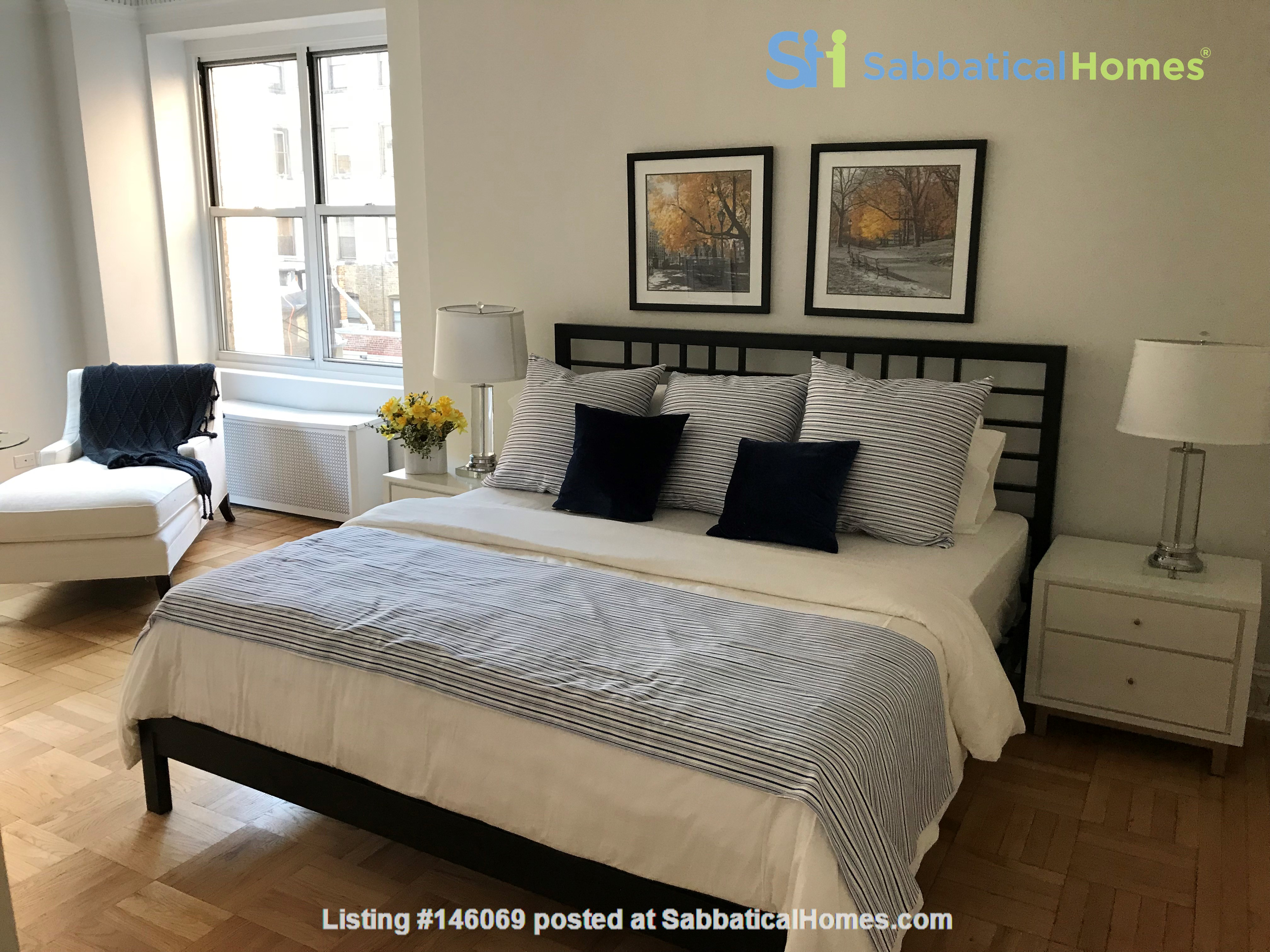 Large, sun-filled 2 bedroom 2 full-bath across from Columbia University Home Rental in New York 1