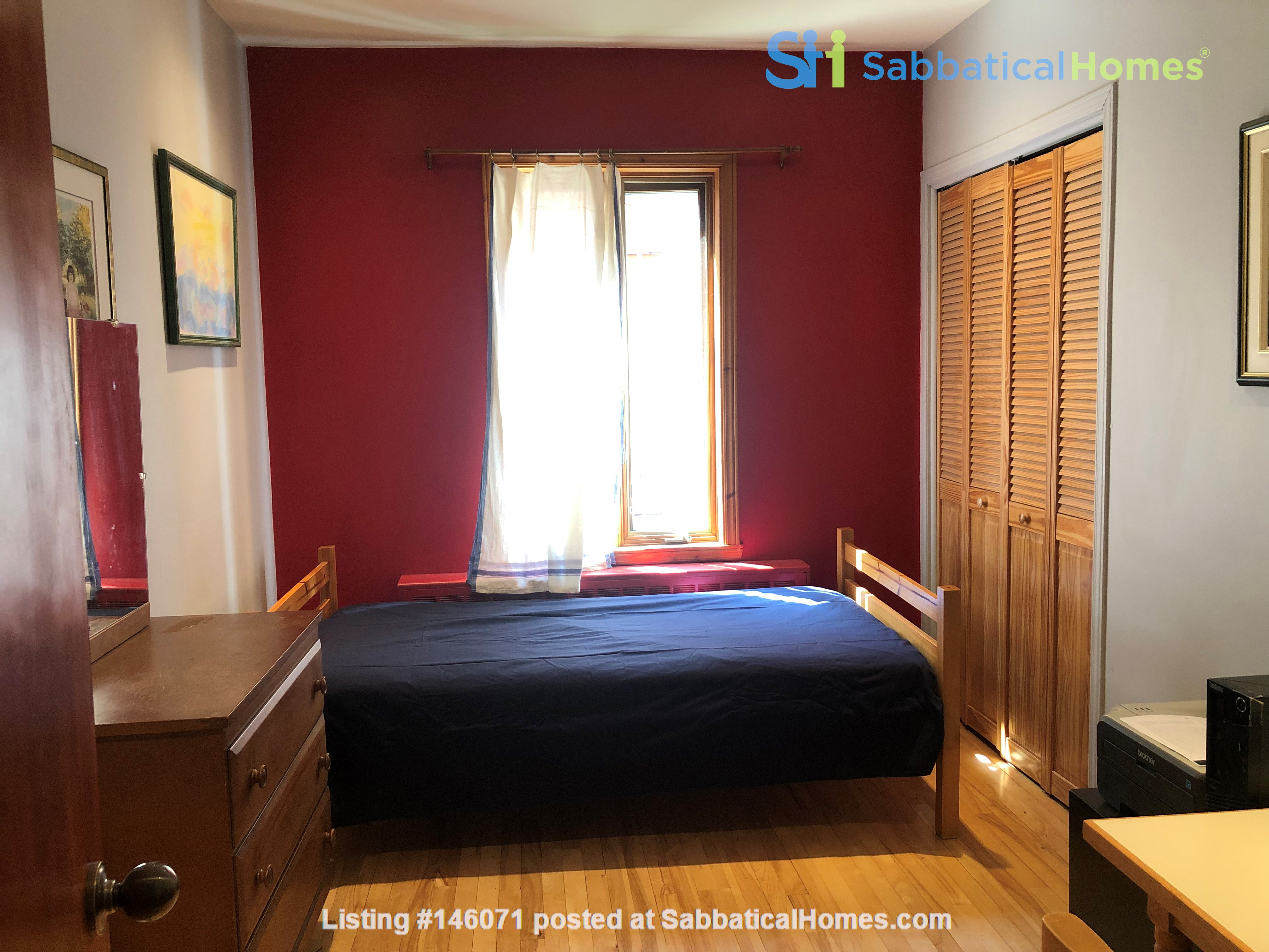 Large furnished apartment - perfect for a family Home Rental in Montréal 5