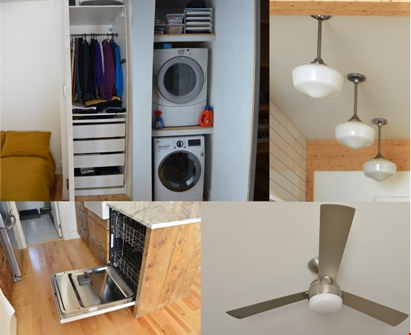 New Studio Apartment Little Italy Home Rental in Montréal 9 - thumbnail