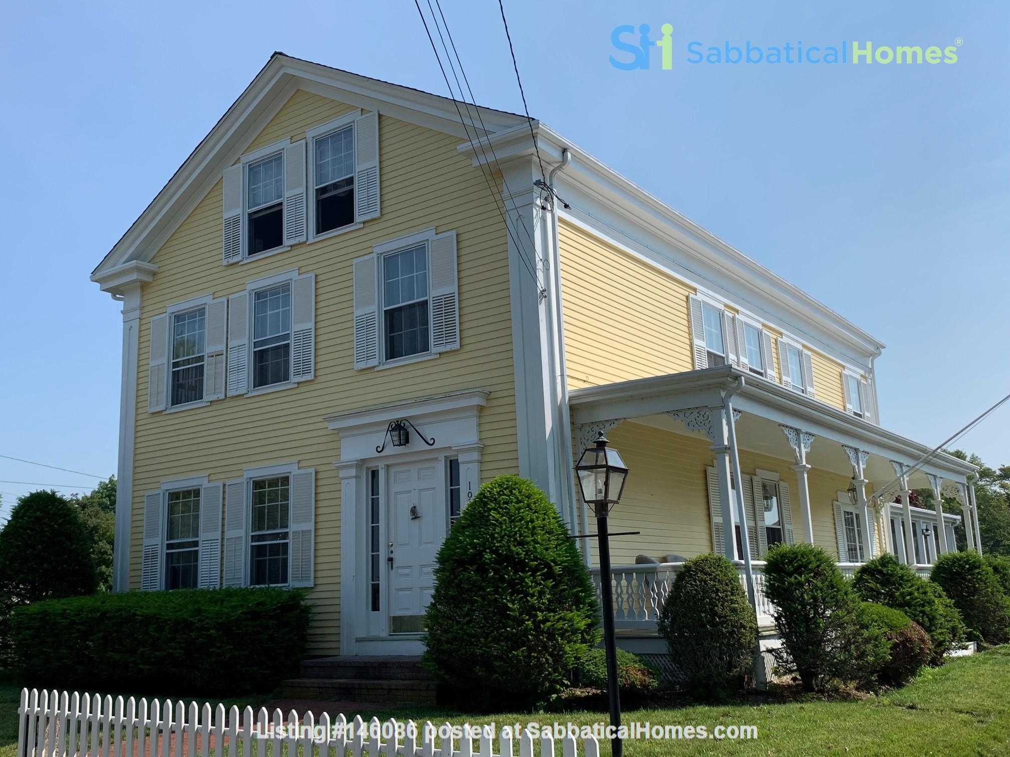 Close but feels far away. Beautiful historic home near Horseneck Beach Home Rental in Westport 0
