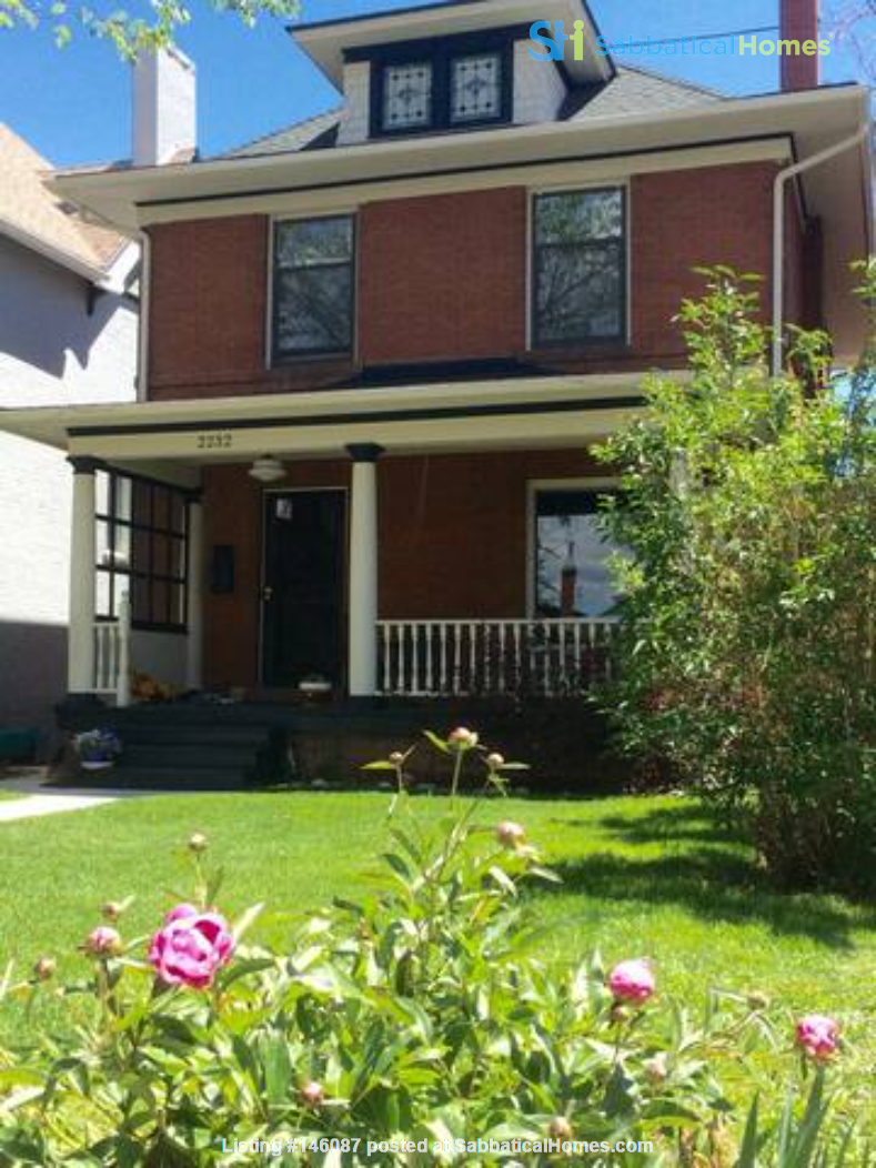 Historic home in walkable neighborhood close to everything! Home Exchange in Denver 1