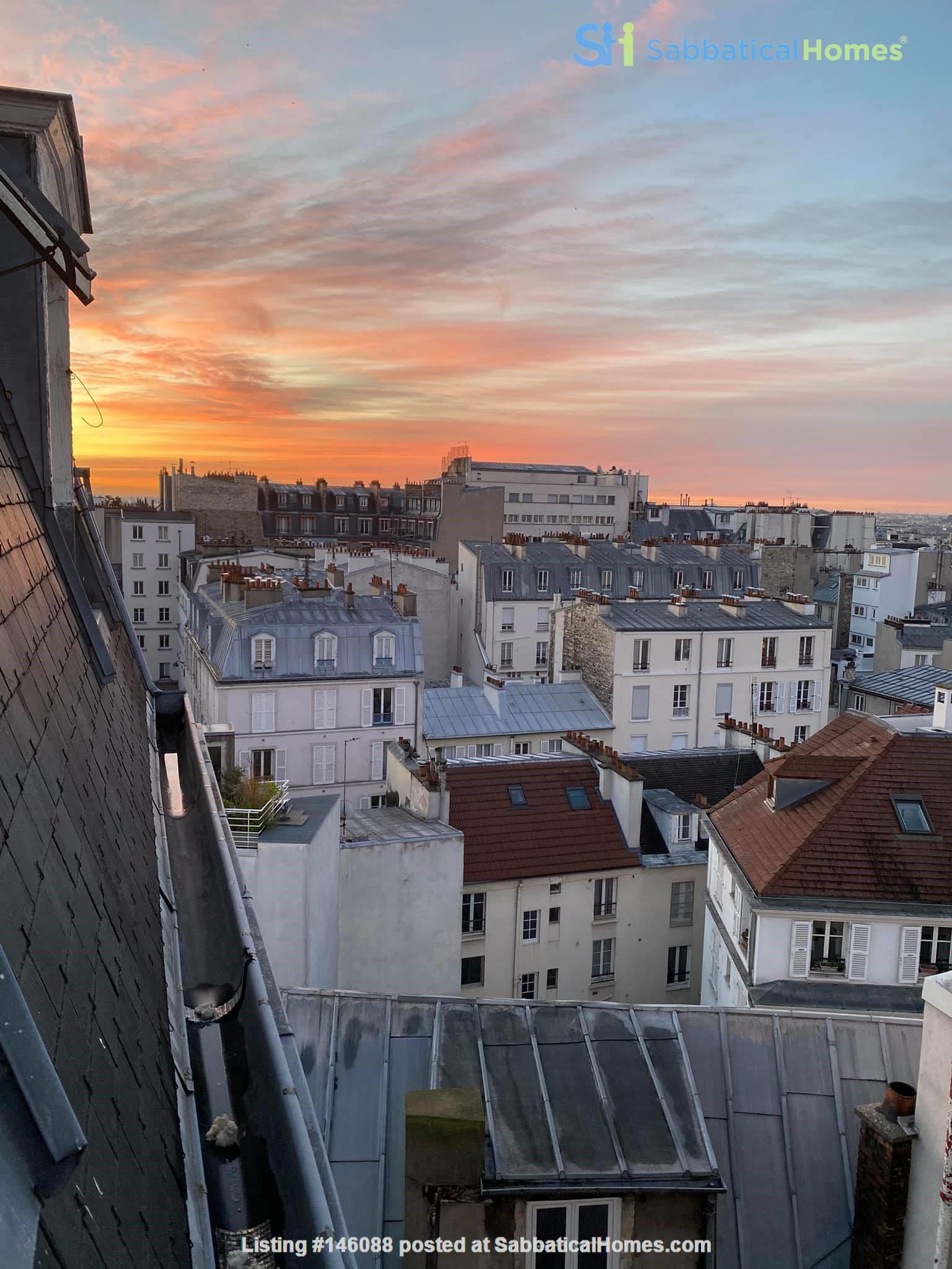 Exquisite Parisian studio in the sky! Home Rental in Paris 6