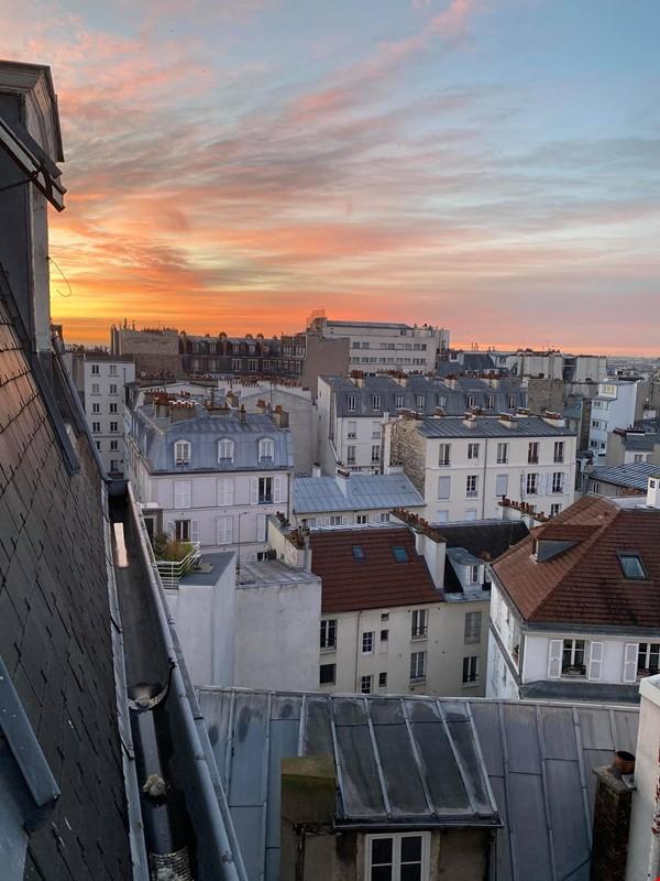 Exquisite Parisian studio in the sky! Home Rental in Paris 6 - thumbnail