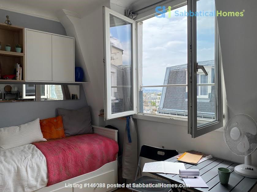 Exquisite Parisian studio in the sky! Home Rental in Paris 0