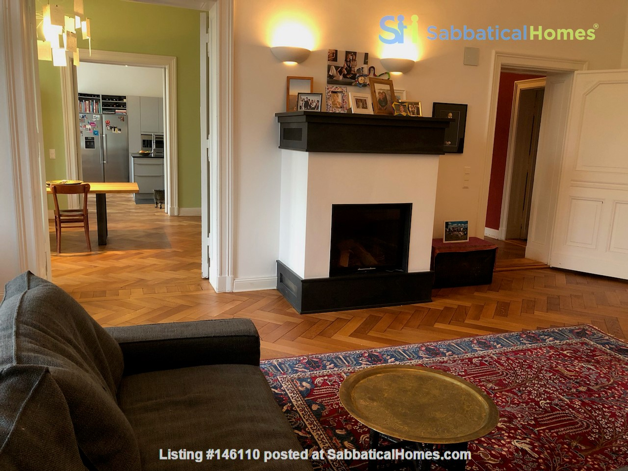 7-room upper-class apartment (2500 sq. foot) for long term rent Home Rental in Berlin 0