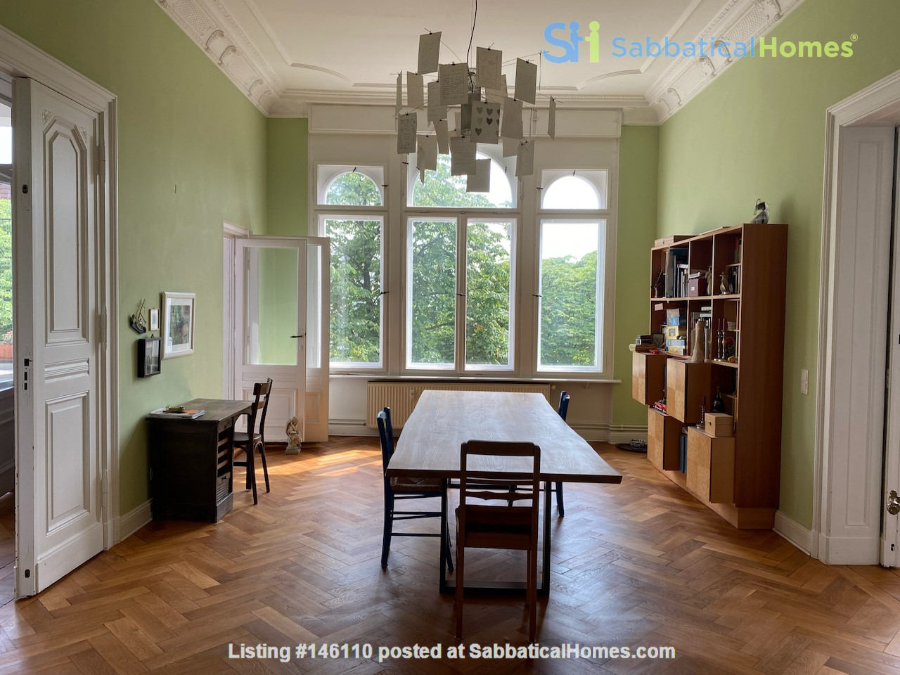 7-room upper-class apartment (2500 sq. foot) for long term rent Home Rental in Berlin 4