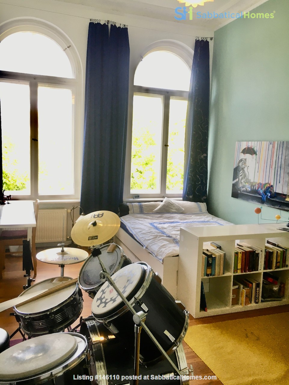 7-room upper-class apartment (2500 sq. foot) for long term rent Home Rental in Berlin 8