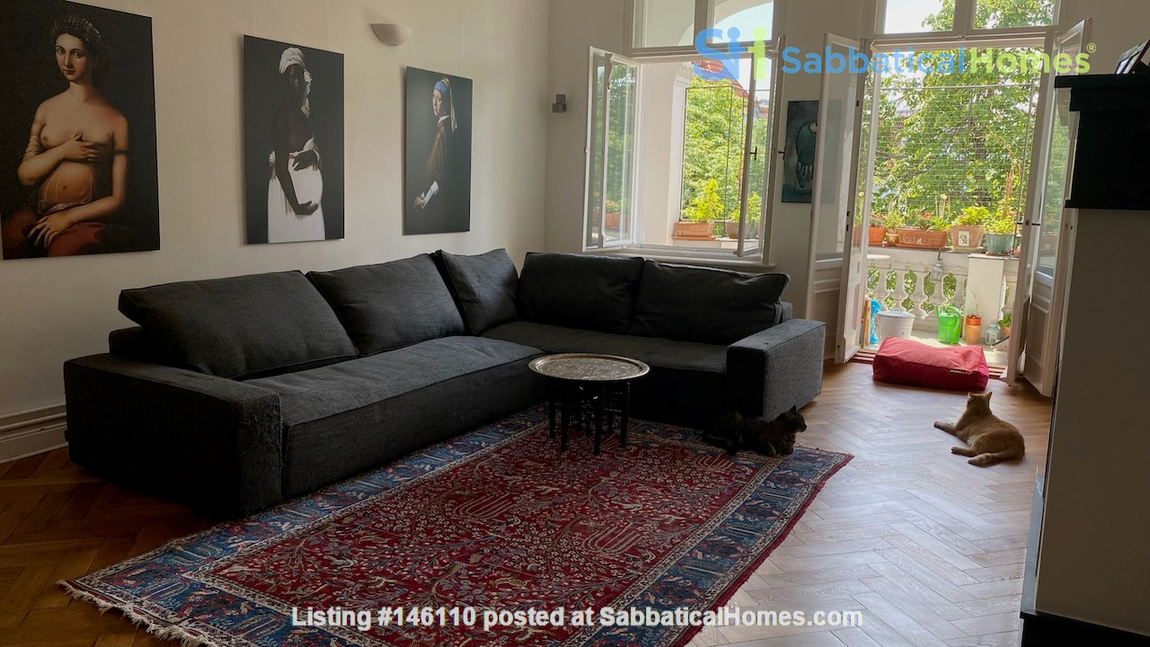 7-room upper-class apartment (2500 sq. foot) for long term rent Home Rental in Berlin 3