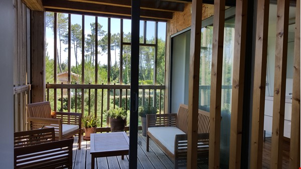 Wooden contemporary house closed to the ocean_Nouvelle Aquitaine Home Exchange in Saint-Julien-en-Born 5 - thumbnail