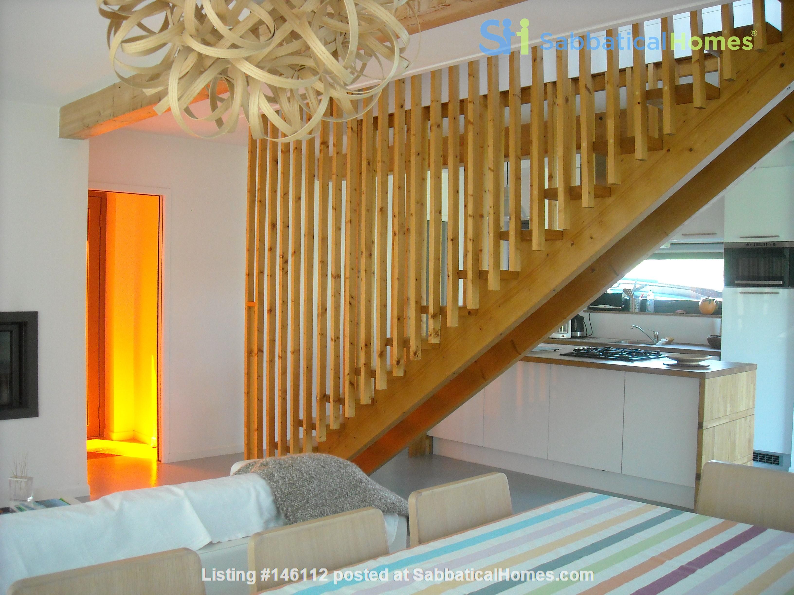Wooden contemporary house closed to the ocean_Nouvelle Aquitaine Home Exchange in Saint-Julien-en-Born 6