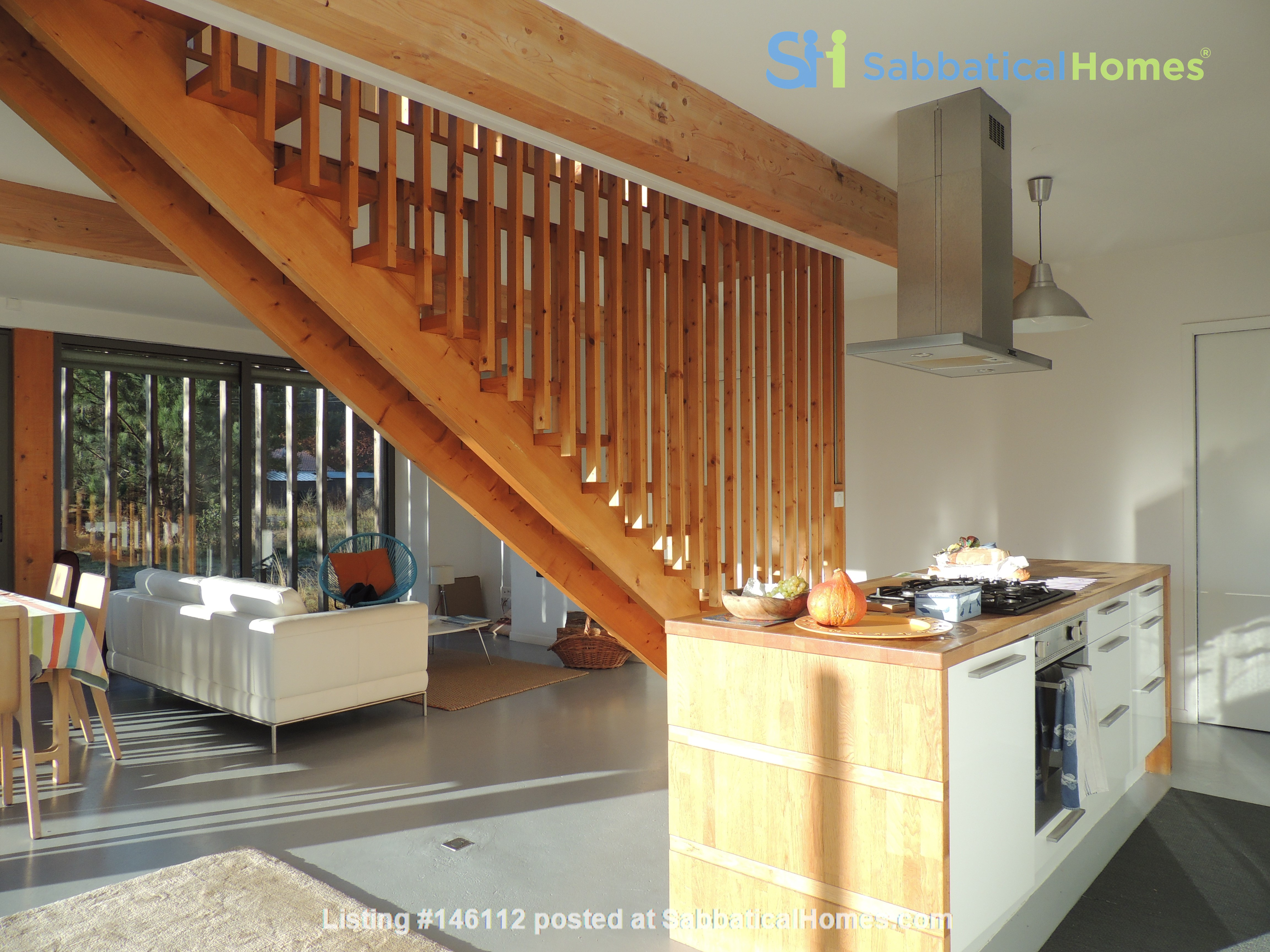 Wooden contemporary house closed to the ocean_Nouvelle Aquitaine Home Exchange in Saint-Julien-en-Born 3