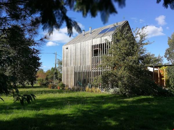 Wooden contemporary house closed to the ocean_Nouvelle Aquitaine Home Exchange in Saint-Julien-en-Born 0 - thumbnail