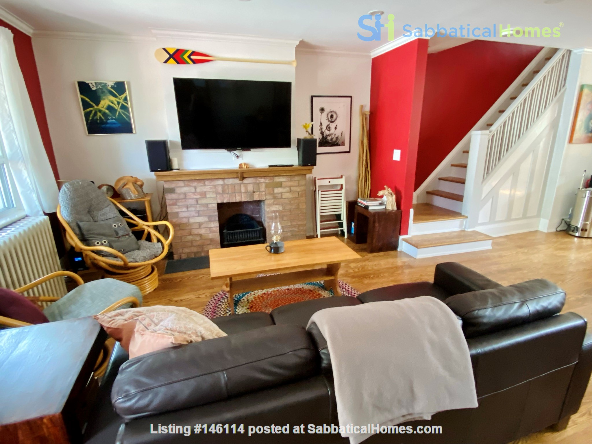 Charming 3 bdrm garden home for rent near The Danforth (w/backyard&parking) Home Rental in Toronto 3