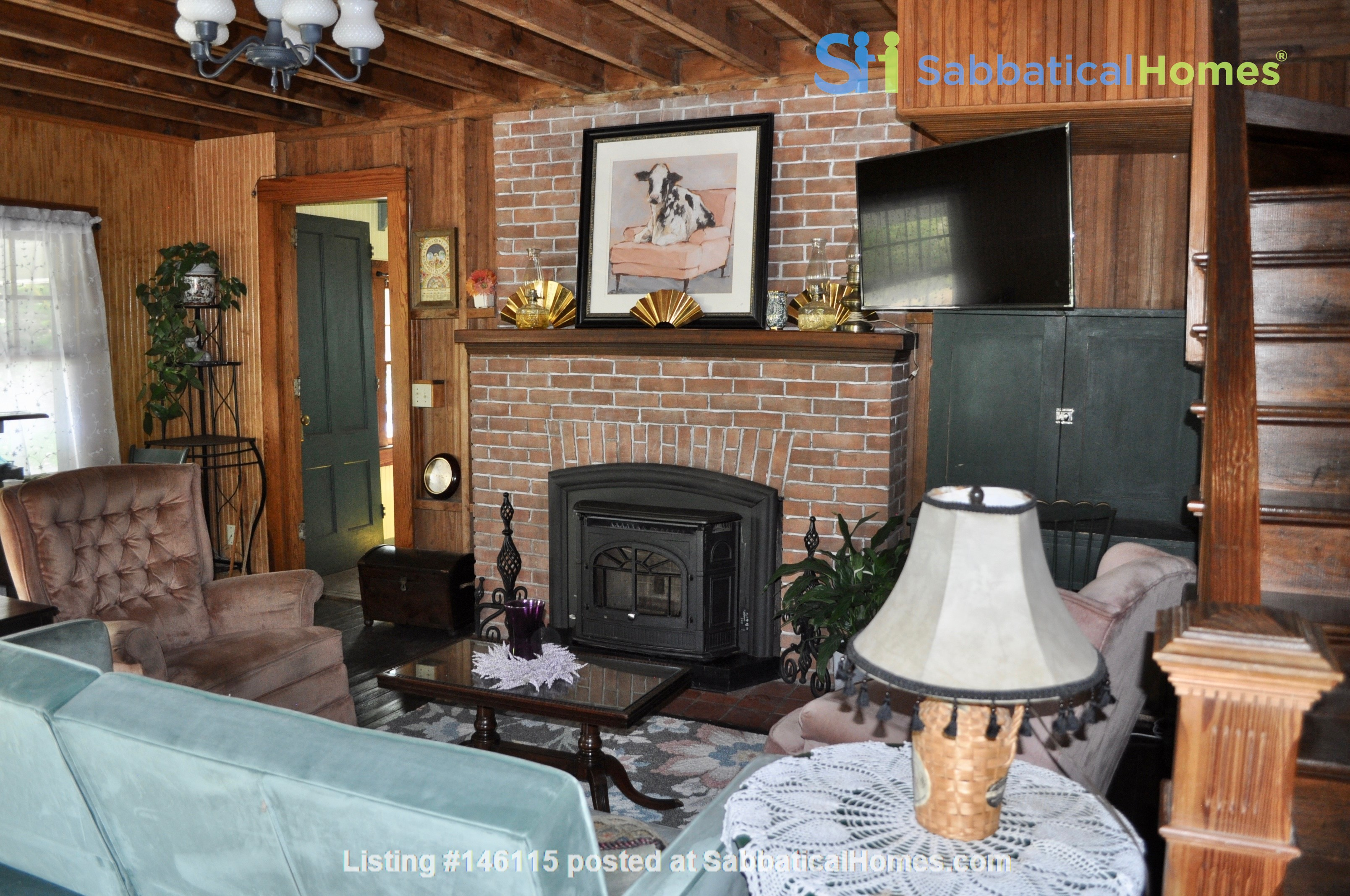 Central VT Country Retreat Near Norwich and VTC Home Rental in Brookfield 7