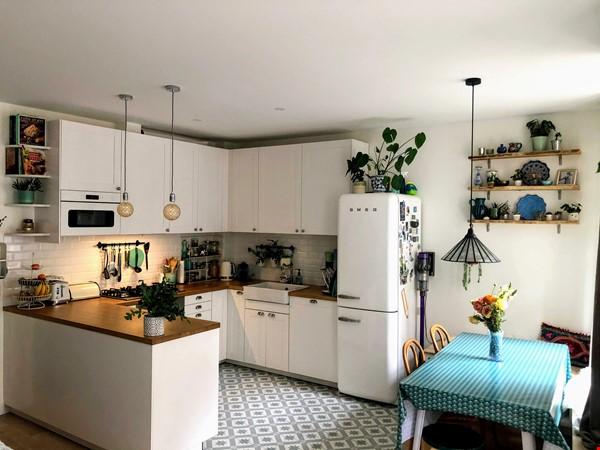 Beautiful Paris Apartment with Verdant Terrace in the heart of Oberkampf Home Rental in Paris 1 - thumbnail
