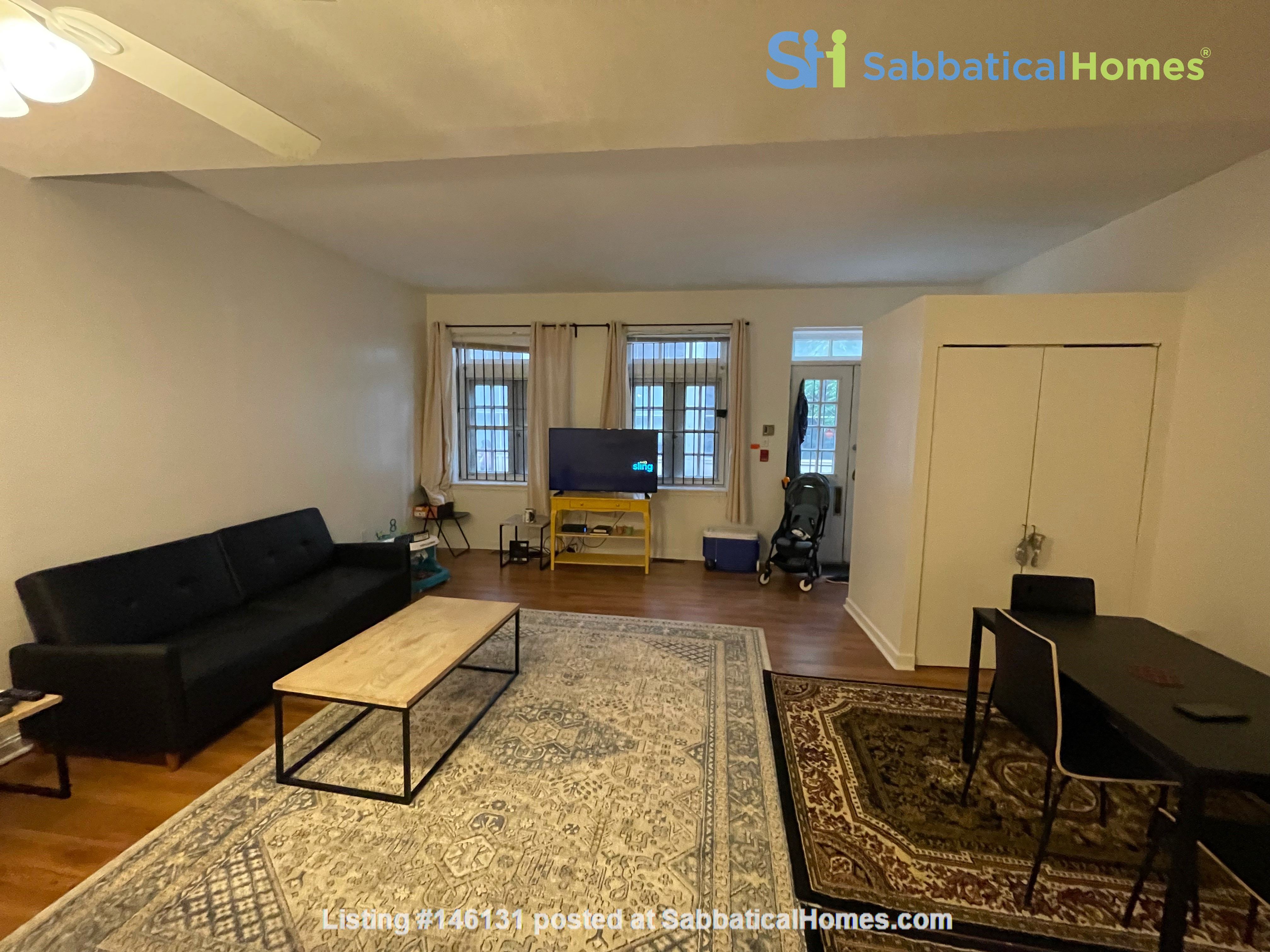Spacious Old City 1 bedroom available Aug 1 -a city oasis! Home Rental in Philadelphia 2