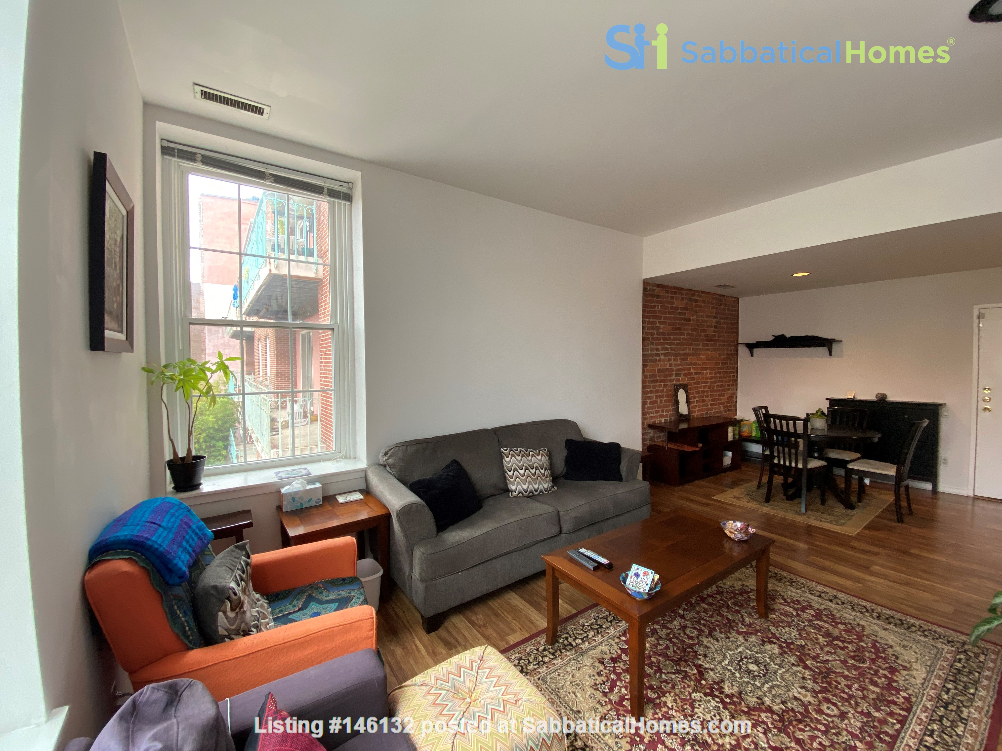 Sunny and bright old city 2 bedroom - near everything! Home Rental in Philadelphia 0