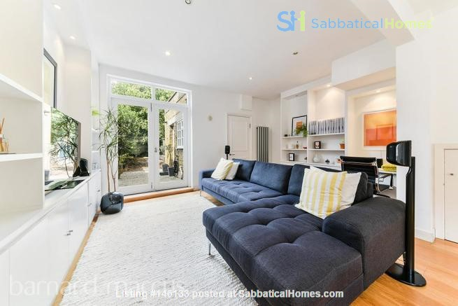 A bright, beautiful house on the cutest square in Kennington! Home Rental in  1