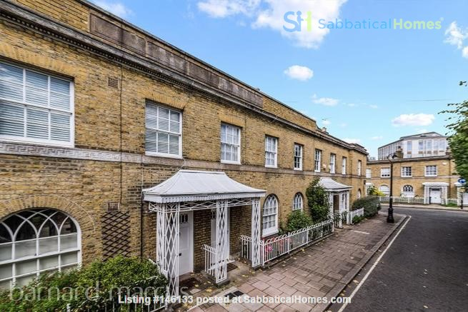 A bright, beautiful house on the cutest square in Kennington! Home Rental in  6