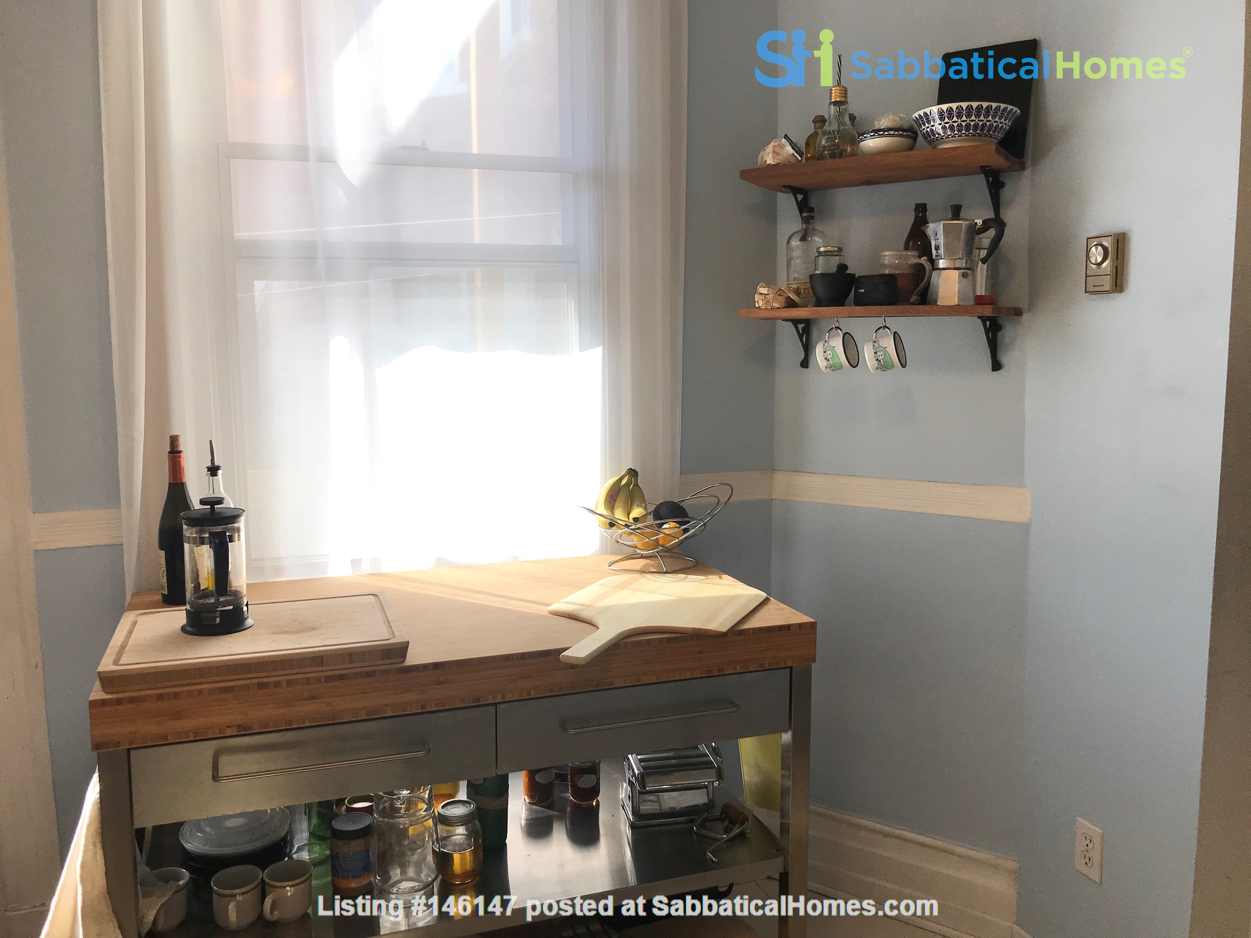 Spacious apartment in vibrant Saint-Henri, close to park, cafes and Metro Home Rental in Montréal 8