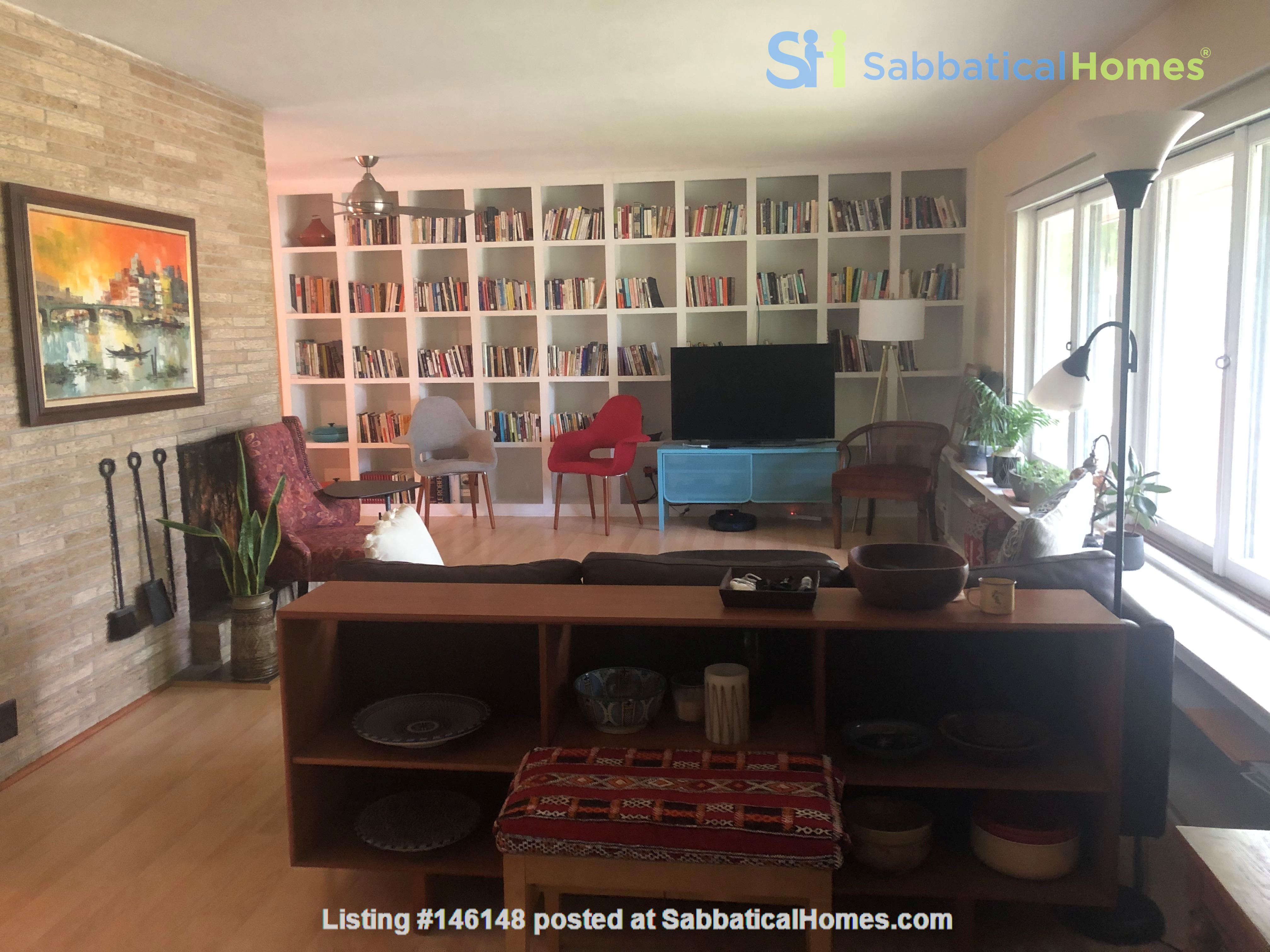 Fully furnished Midcentury Modern House in quiet Mid-town Madison Home Rental in Madison 0