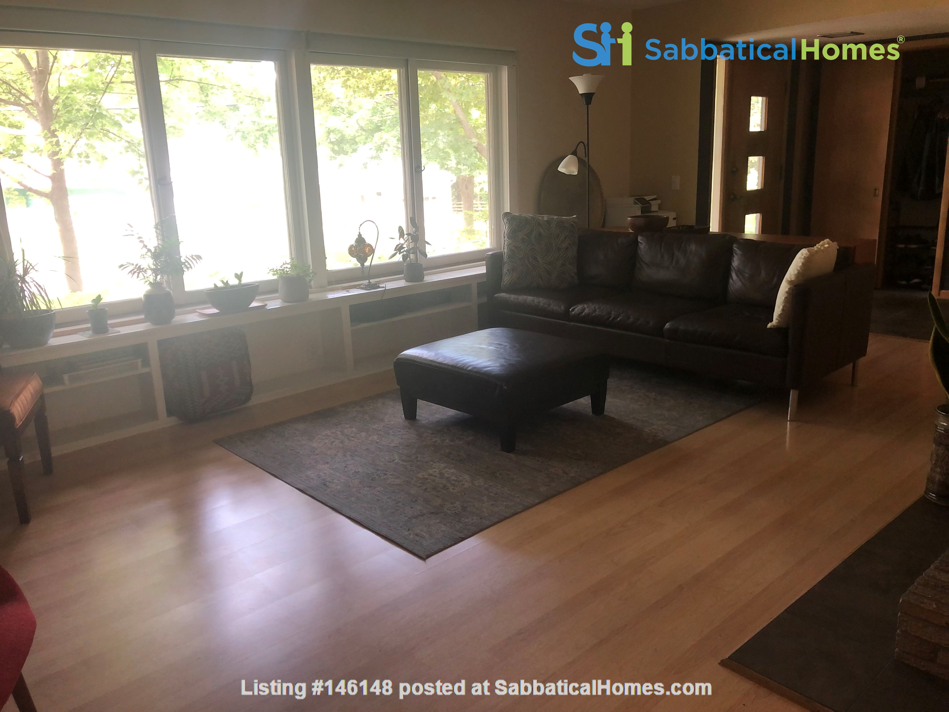Fully furnished Midcentury Modern House in quiet Mid-town Madison Home Rental in Madison 1