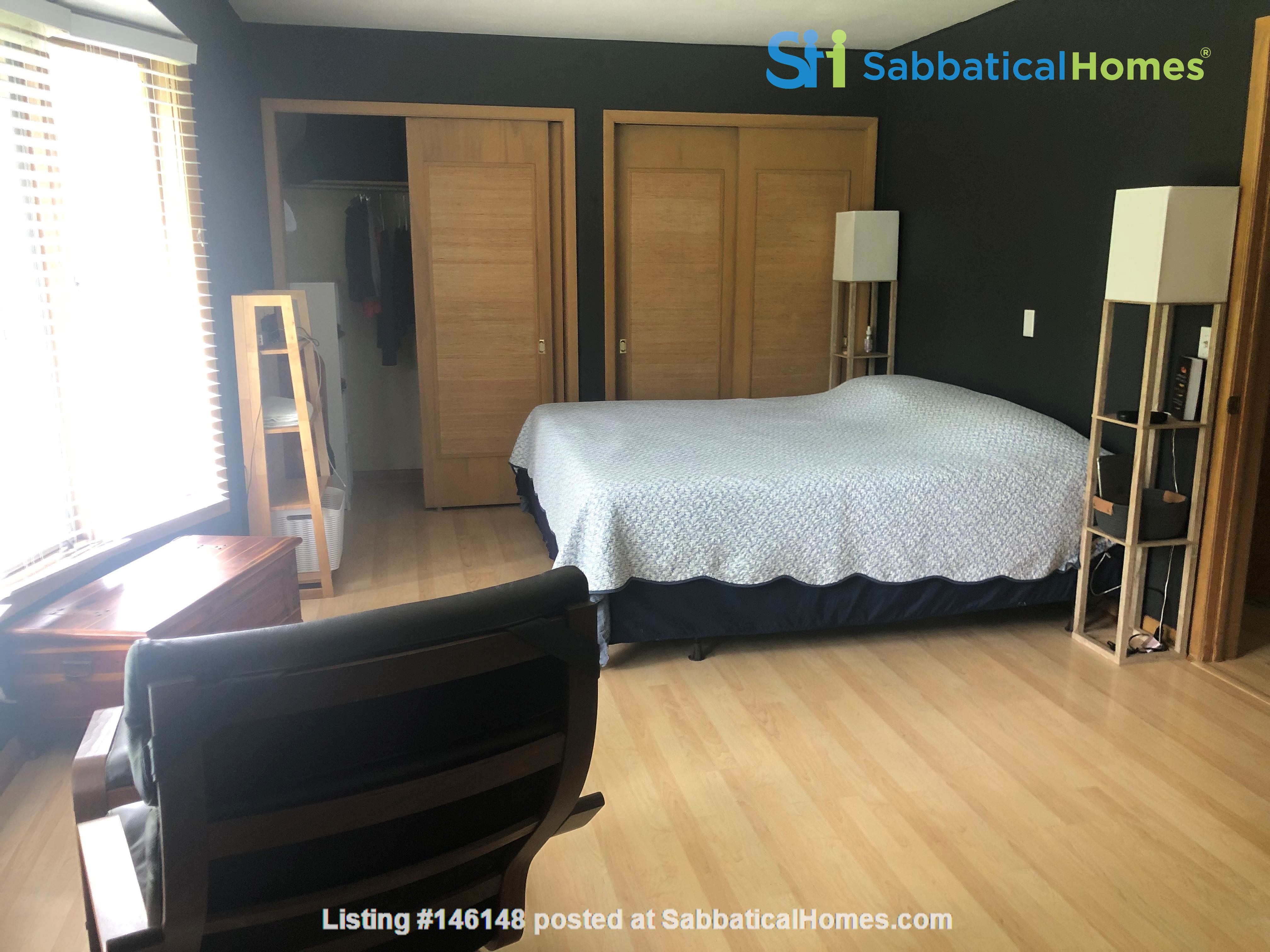 Fully furnished Midcentury Modern House in quiet Mid-town Madison Home Rental in Madison 4