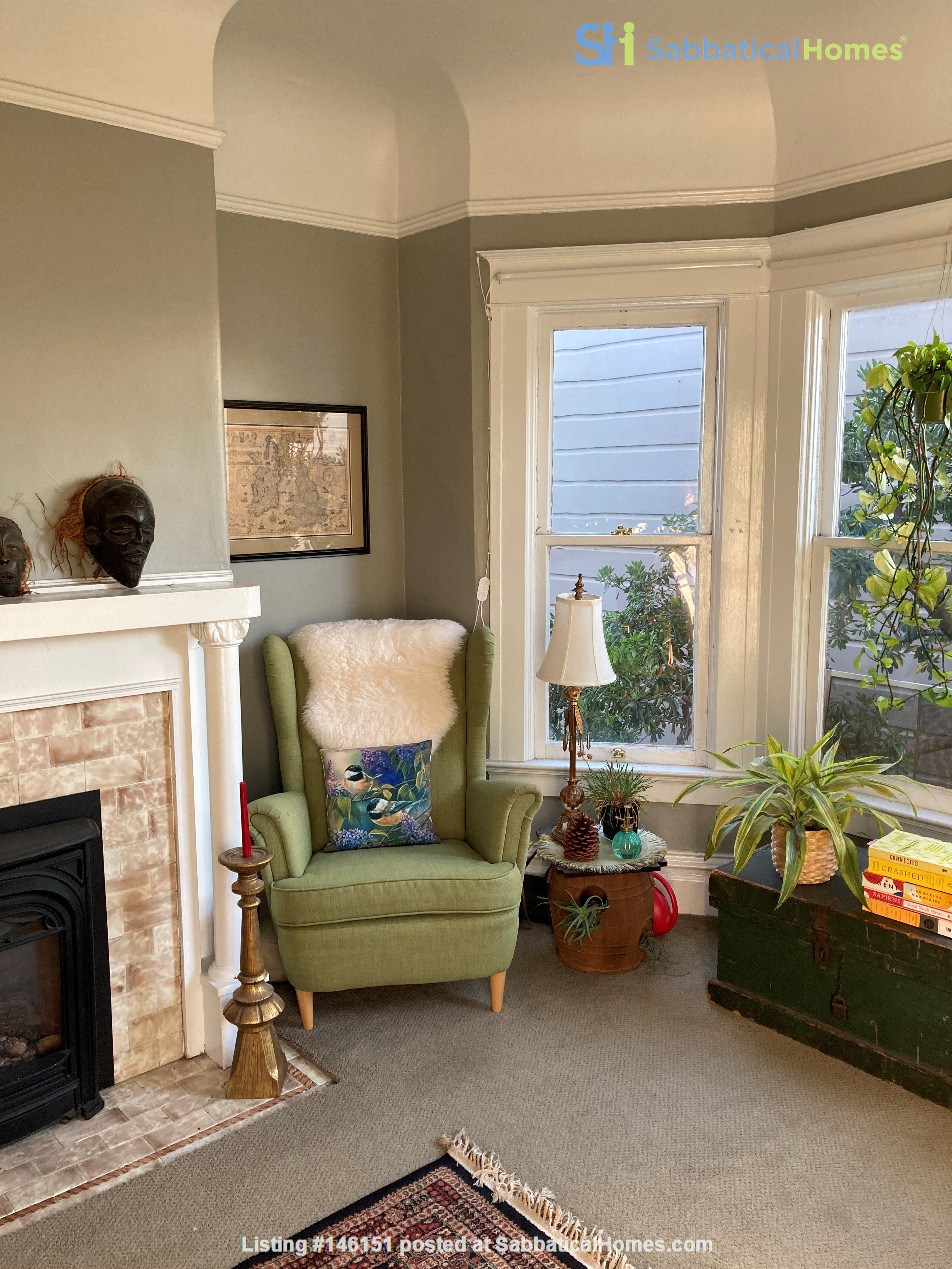Historic, central SF Victorian in Russian Hill, views of Golden Gate Bridge Home Rental in SF 1