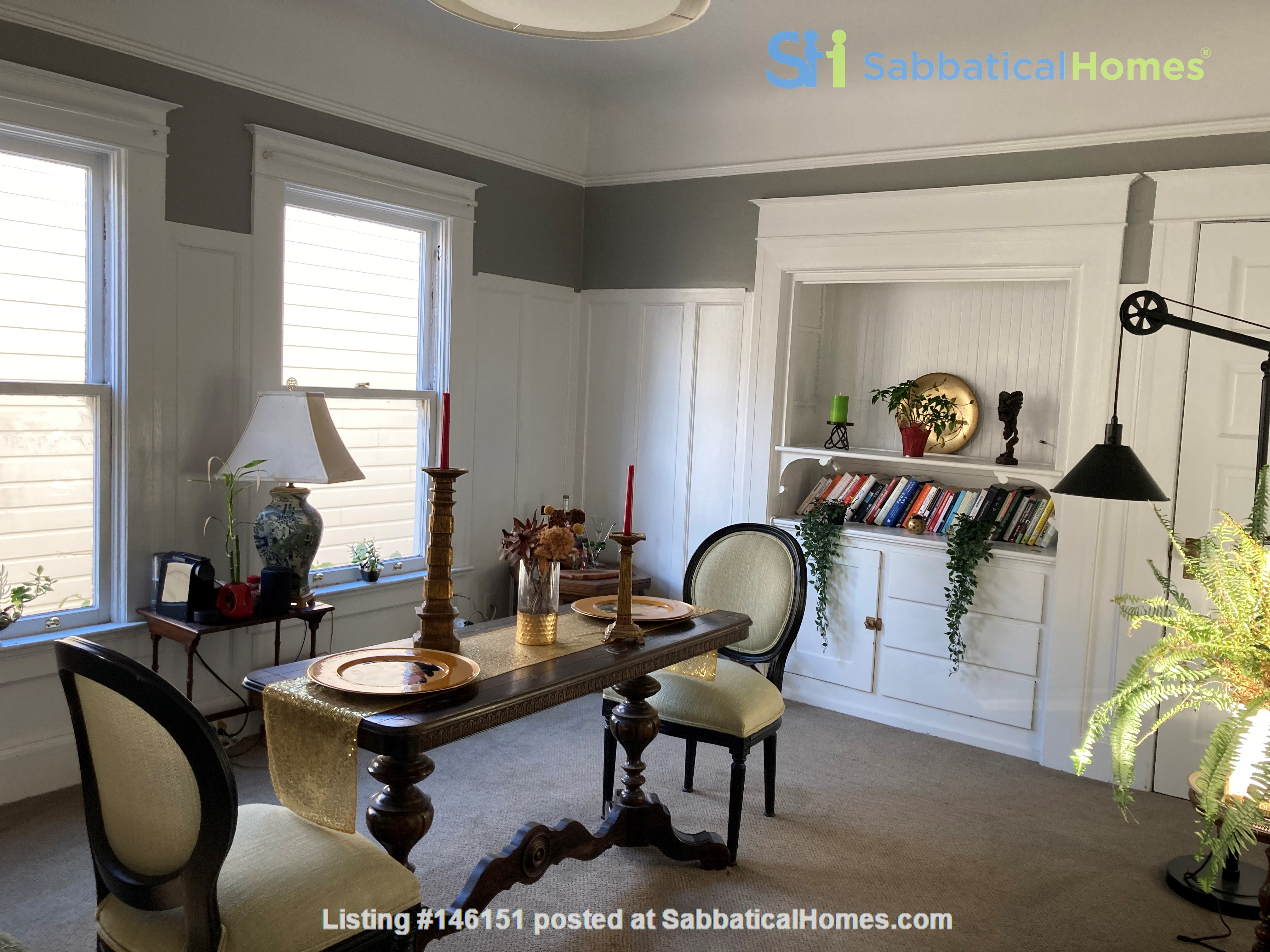 Historic, central SF Victorian in Russian Hill, views of Golden Gate Bridge Home Rental in SF 3