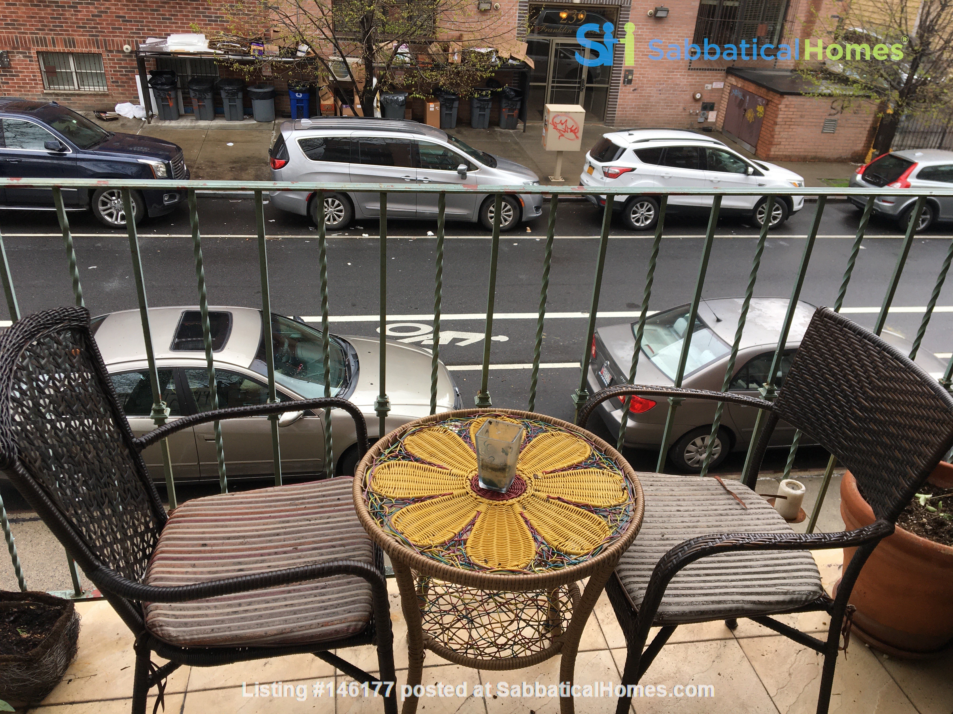 Furnished Apartment/ Balcony in Brooklyn Home Rental in  0