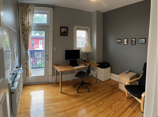 Light and charming 4-bed 100-year old brick row house in central NDG Home Exchange in Montréal 6 - thumbnail