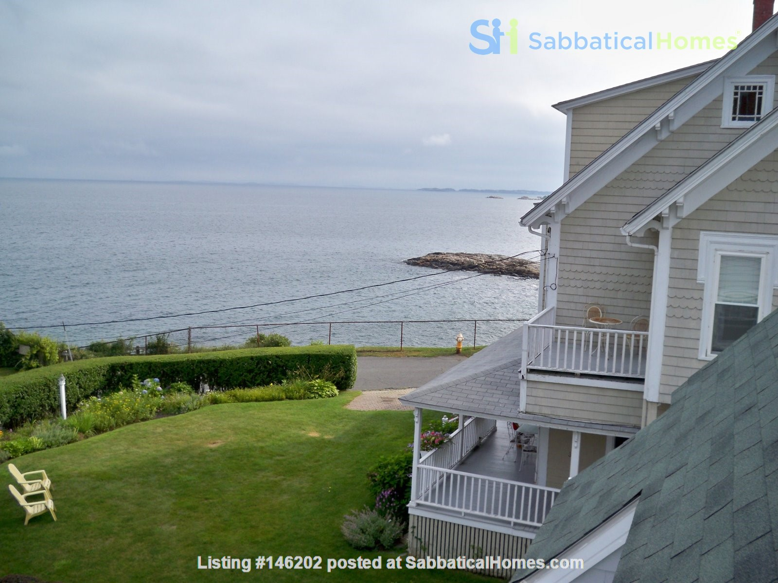 Spacious renovated Victorian with ocean views from every room! Home Rental in Marblehead 1