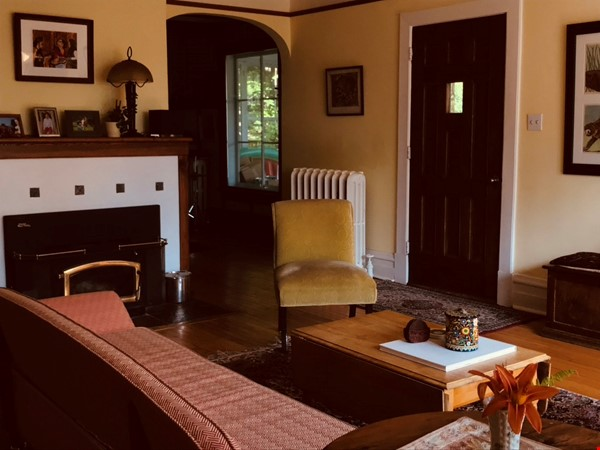 3 BR Historic Arts and Crafts House in Beautiful Wakefield Village Home Rental in Wakefield 3 - thumbnail