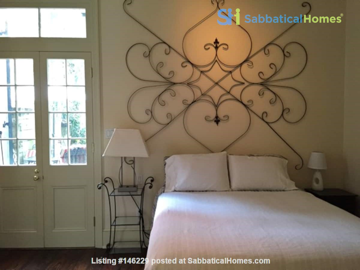 Elegant furnished 1-bedroom condo in French Quarter Home Rental in New Orleans 1